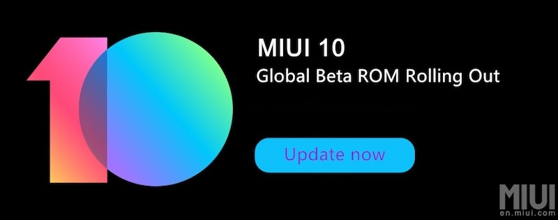 MIUI 10 Global Beta ROM for Xiaomi Download