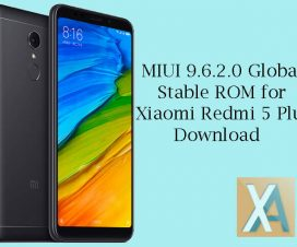 MIUI 9.6.2.0 Global ROM Redmi 5 Plus
