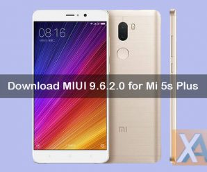 Mi 5s plus miui 9.6.2.0 update download