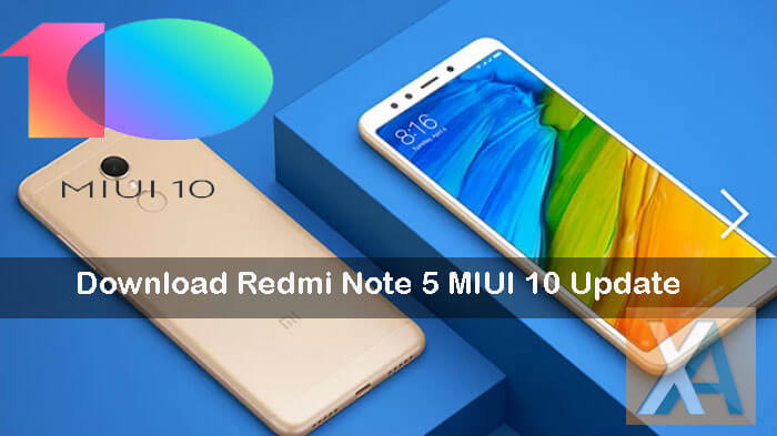 Redmi Note 5 MIUI 10 update download