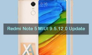 redmi Note 5 MIUI 9.5.12.0 update download