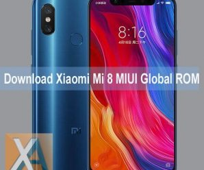 Xiaomi Mi 8 MIUI Global Stable ROM download