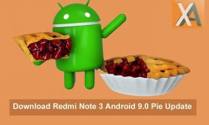Android 9.0 Pie update Redmi Note 3 Download