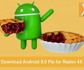 Android 9.0 Pie update for Redmi 4X