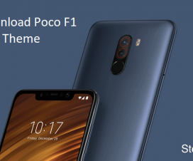 Poco F1 Theme Download Xiaomi
