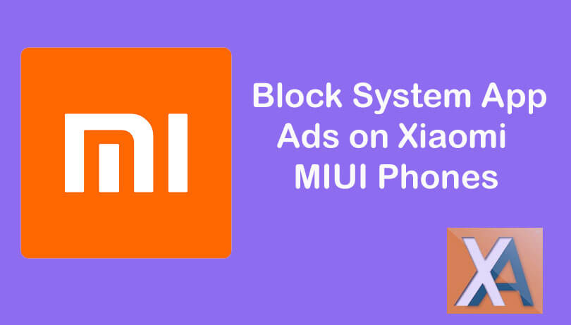 Block System App Ads on Xiaomi MIUI phones