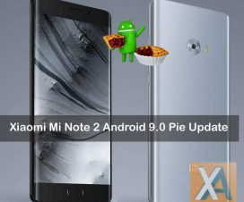Mi Note 2 Android 9.0 Pie Update download
