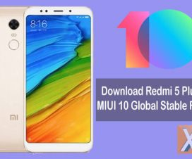 Redmi 5 Plus MIUI 10 Stable Update Download