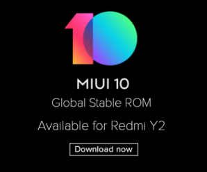 Redmi Y2 MIUI 10 Global Stable ROM Download