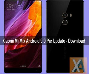 Xiaomi Mi Mix Android 9.0 Pie Update Download