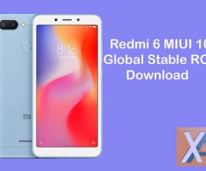 redmi 6 miui 10 global stable rom download