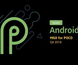 Poco F1 Android 9.0 Pie MIUI 10 update