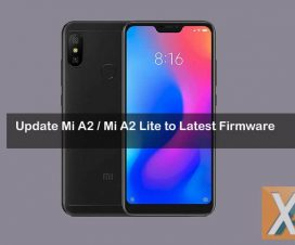 Xiaomi Mi A2 Mi A2 Lite latest firmware download