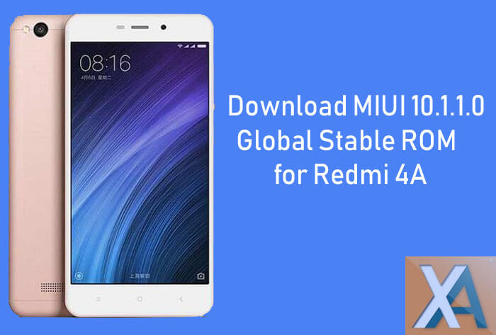 MIUI 10.1 update for Redmi 4A
