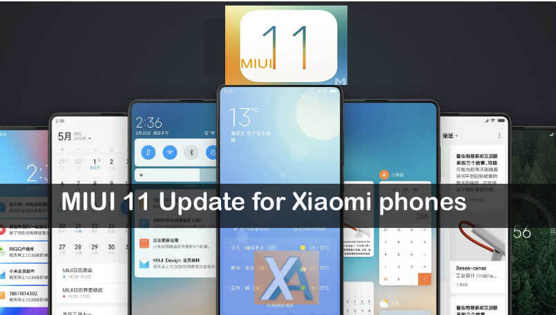MIUI 11 Update release date eligible devices