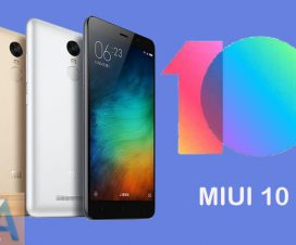 MIUI 10 update for Redmi Note 3