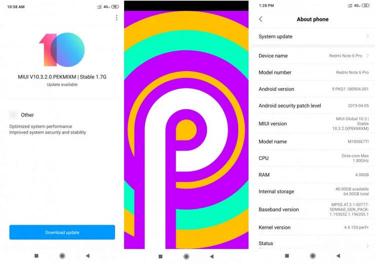 android 9 pie download for redmi 6 pro