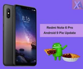 redmi note 6 pro Android 9 Pie update